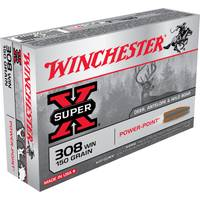 Winchester Super - X 308 Winchester Power - Point Centerfire Rifle Ammo from Blain's Farm and Fleet