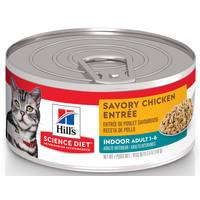 Hill's Science Diet 5.5 oz Minced Chicken Entree Indoor Cat Adult Canned Cat Food from Blain's Farm and Fleet