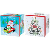 Worldwide Sourcing Square Printed Gift Box Assortment from Blain's Farm and Fleet