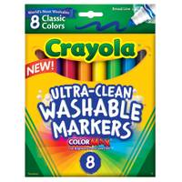 Crayola Classic Colors Washable Waterbased Markers from Blain's Farm and Fleet