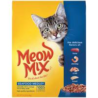 Meow Mix Seafood Medley Cat Food from Blain's Farm and Fleet
