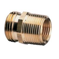 Nelson Double Male or Male and Female Pipe and Hose Fitting from Blain's Farm and Fleet