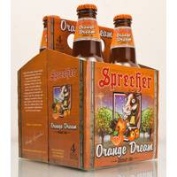 Sprecher Brewing Co. Orange Dream from Blain's Farm and Fleet
