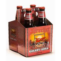 Sprecher Brewing Co. Cherry-Cran Gourmet Soda from Blain's Farm and Fleet