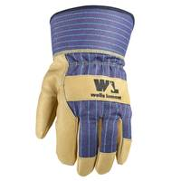 Wells Lamont Men's Grain Pigskin Leather Palm Gloves from Blain's Farm and Fleet