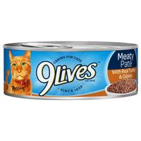9 Lives Meaty Pate With Real Turkey & Giblets Cat Food from Blain's Farm and Fleet