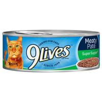 9 Lives Meaty Pate Super Supper Cat Food from Blain's Farm and Fleet