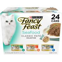 Fancy Feast Seafood Classic Pate Collection Variety Pack from Blain's Farm and Fleet