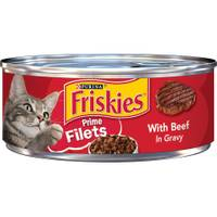 Friskies Prime Filets With Beef In Gravy from Blain's Farm and Fleet
