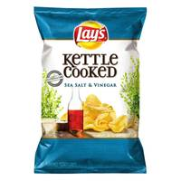 Lay's Sea Salt & Vinegar Kettle Cooked Chips from Blain's Farm and Fleet