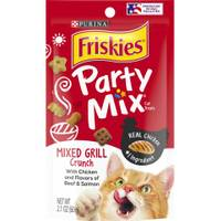 Friskies Party Mix Mixed Grill Crunch Cat Treats from Blain's Farm and Fleet