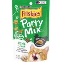 Friskies Party Mix Picnic Crunch Cat Treats from Blain's Farm and Fleet