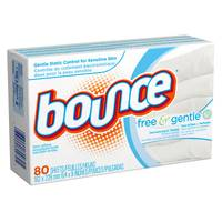 Bounce Free & Sensitive Dryer Sheets from Blain's Farm and Fleet