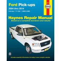 Haynes Ford Pick-Ups, Full-size F-150, '04-'14 Manual from Blain's Farm and Fleet