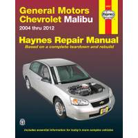 Haynes GM: Chevrolet Malibu, '04-'12 Manual from Blain's Farm and Fleet