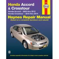 Haynes Honda Accord (03-12) & Crosstour (10-14) Manual from Blain's Farm and Fleet