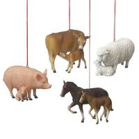Midwest-CBK Farm Animal with Baby Ornament Assortment from Blain's Farm and Fleet