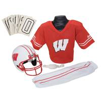 Franklin Wisconsin Badgers Collegiate Helmet and Uniform Set from Blain's Farm and Fleet