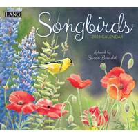 Lang Songbirds Wall Calendar from Blain's Farm and Fleet