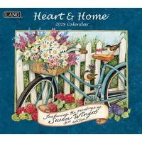 Lang Heart & Home Wall Calendar from Blain's Farm and Fleet
