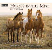 Lang Horses in the Mist Wall Calendar from Blain's Farm and Fleet