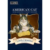 Lang American Cat Monthly Pocket Calendar from Blain's Farm and Fleet
