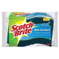 Scotch - Brite Non-Scratch Scrub Sponge from Blain's Farm and Fleet