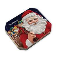 Russell Stover Santa Assorted Chocolates Collector's Tin from Blain's Farm and Fleet