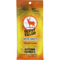 Scent Killer Autumn Formula Dryer Sheets from Blain's Farm and Fleet