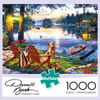 Buffalo Games Darrell Bush Loon Lake Jigsaw Puzzle Assortment from Blain's Farm and Fleet