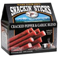 Hi Mountain Seasonings Cracked Pepper 'n Garlic Snackin' Stick Kit from Blain's Farm and Fleet