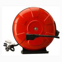 Woods Retractable Cord Reel with Locking Plug from Blain's Farm and Fleet
