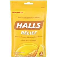 Halls Honey Lemon Cough Drops from Blain's Farm and Fleet