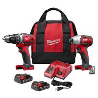 Milwaukee M18 Cordless LITHIUM-ION 2-Tool Combo Kit from Blain's Farm and Fleet