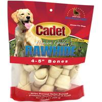 Cadet Natural Rawhide Knot Bones 10 pack from Blain's Farm and Fleet