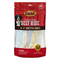 Cadet Natural Rawhide Knot Bone 2 Pack from Blain's Farm and Fleet