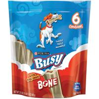 Busy Bone Dog Chewy Treats from Blain's Farm and Fleet