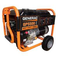 Generac 5500 Watt Portable Generator from Blain's Farm and Fleet