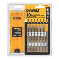 DEWALT 10 Piece Jigsaw Blade Set from Blain's Farm and Fleet