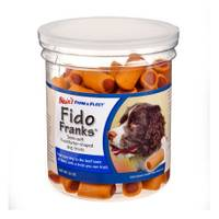 Blain's Farm & Fleet Fido Franks Hot Dog Shaped Dog Treats from Blain's Farm and Fleet