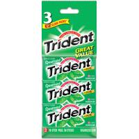 Trident Chewing Gum 3 Pack from Blain's Farm and Fleet