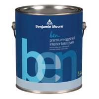 Benjamin Moore Benjamin Moore 1 Gallon ben(R) Interior Eggshell Finish Latex Paint from Blain's Farm and Fleet