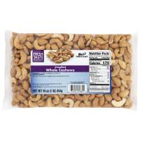 Blain's Farm & Fleet Unsalted Whole Cashews from Blain's Farm and Fleet