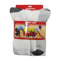 Work n' Sport Performance Sport Crew Socks from Blain's Farm and Fleet