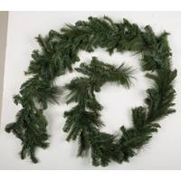 Caffco International Wildwood Mix Tip Pine Garland from Blain's Farm and Fleet