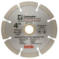 MK Diamond Contractor Segmented Rim Blades from Blain's Farm and Fleet