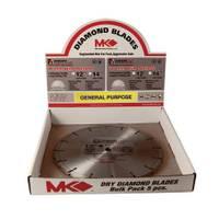 MK Diamond Segmented Rim Bulk Blades from Blain's Farm and Fleet