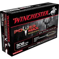 Winchester Super - X 308 Winchester Power Max Bonded Centerfire Rifle Ammo from Blain's Farm and Fleet