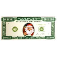 Russell Stover Santa Money Milk Chocolate Bar from Blain's Farm and Fleet