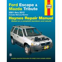 Haynes Ford Escape, Mazda Tribute (01-12) & Mercury Mariner (05-11) Manual from Blain's Farm and Fleet